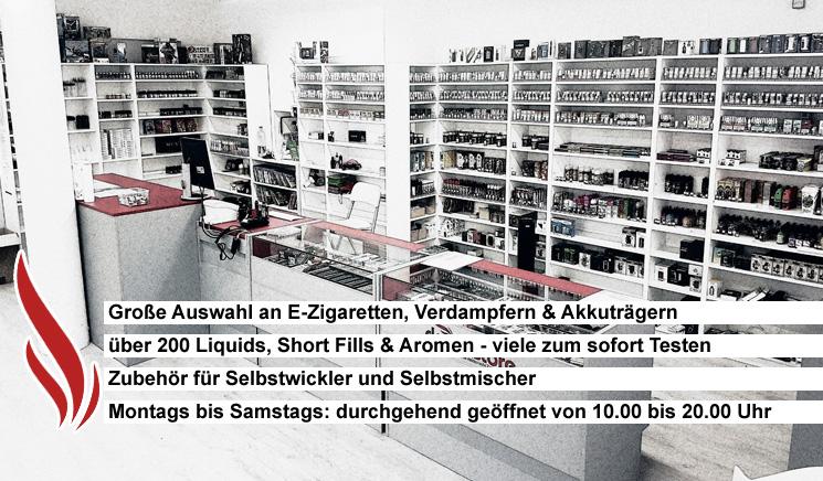 Damfastore München-  der Fchhändler für eletronische Zigaretten