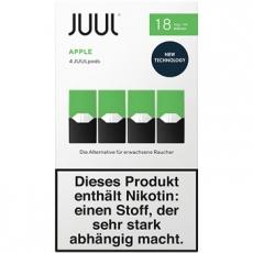 4x JUUL Pods Apple 18mg/ml