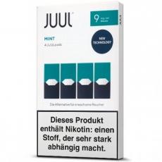 4x JUUL Pods Mint 9mg/ml