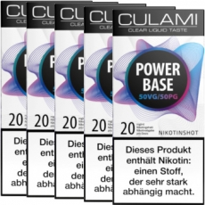 Culami Nikotin Shot 20mg 50/50 (5x 10ml)