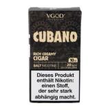 VGod SaltNic Cubano (10ml, 20mg Nic Salt)
