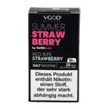 VGod SaltNic Summer Strawberry (10ml, 20mg Nic Salt)