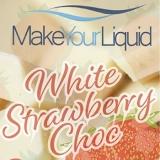 Make Your Liquid White Strawberry Choc (80ml)