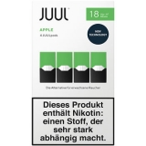 4x JUUL Pods Apple 18mg/ml