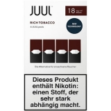 4x JUUL Pods Rich Tobacco 18mg/ml