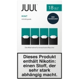 4x JUUL Pods Mint 18mg/ml