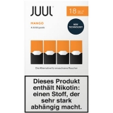 4x JUUL Pods Mango 18mg/ml